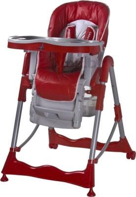 Стульчик для кормления Caretero Magnus (красный) - общий вид