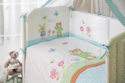 Комплект в кроватку Perina ГЛОРИЯ Г7-02.0 (Hello)