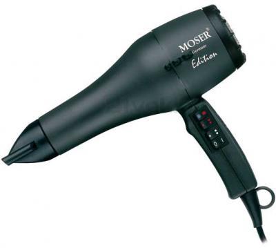 Профессиональный фен Moser Edition H10 0210-0050 (Black) - общий вид