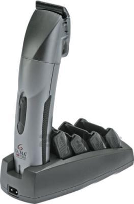 Машинка для стрижки волос GA.MA GC 900 ALLOY (T11.GC900A) - на подставке