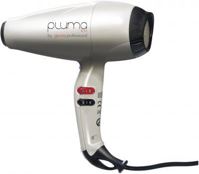 Профессиональный фен GA.MA PLUMA 4500 ION (A11.PLUMAIONSD.BN) (White) - общий вид