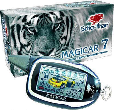 Брелок сигнализации Scher-Khan Magicar 7\8\9\10 - общий вид