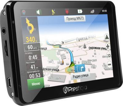 GPS навигатор Prestigio GeoVision 5850 HDDVR (PGPS5850CIS8HDDVRNV) - общий вид