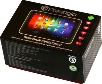 GPS навигатор Prestigio GeoVision 5850 HDDVR (PGPS5850CIS8HDDVRNV) - коробка
