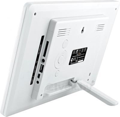 Цифровая фоторамка TeXet TF-111T (White) - вид сзади