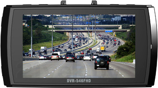 Автомобильный видеорегистратор TeXet DVR-546FHD - дисплей