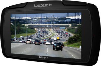 Автомобильный видеорегистратор TeXet DVR-547FHD - дисплей