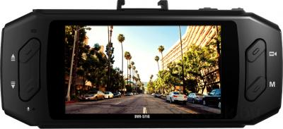 Автомобильный видеорегистратор TeXet DVR-571G - дисплей