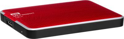 Внешний жесткий диск Western Digital My Passport Ultra 1TB Red (WDBJNZ0010BRD) - общий вид