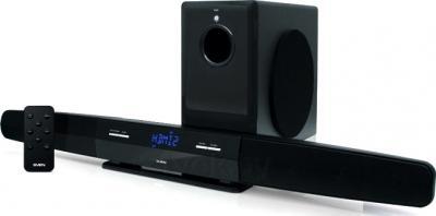 Мультимедиа акустика Sven SB-550 (черный) - общий вид
