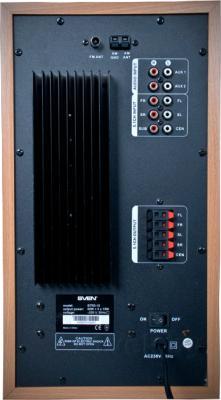 Мультимедиа акустика Sven BTR5-10 (черный) - разъемы