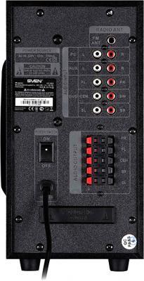 Мультимедиа акустика Sven HT-200 (черный) - вид сзади