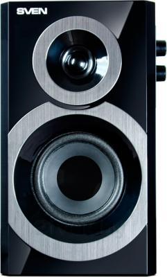 Мультимедиа акустика Sven SPS-619 (черный) - фронтальный вид