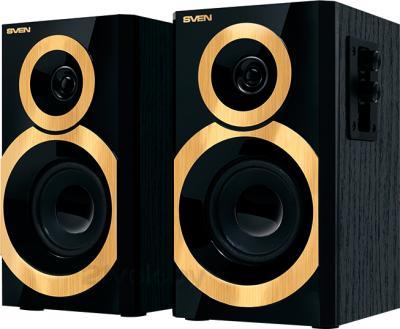 Мультимедиа акустика Sven SPS-619 (черно-золотой) - общий вид