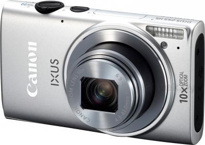 Компактный фотоаппарат Canon IXUS 255 HS (серебристый) - общий вид