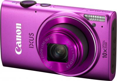 Компактный фотоаппарат Canon IXUS 255 HS (розовый) - общий вид