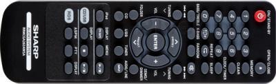 Минисистема Sharp XL-HF151PHBK - пульт ДУ