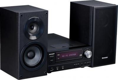Минисистема Sharp XL-HF151PHBK - общий вид