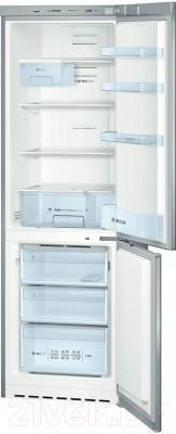 Холодильник с морозильником Bosch KGN36VL11R - внутренний вид