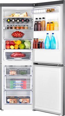 Холодильник с морозильником Samsung RB29FERNCSA/RS - камеры хранения