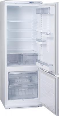 Холодильник с морозильником ATLANT ХМ 4011-100 - внутренний вид
