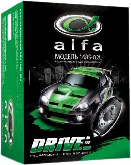 Автосигнализация Alfa Drive (168S-02U) - общий вид