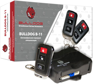 Автосигнализация Bulldog B-11 - общий вид