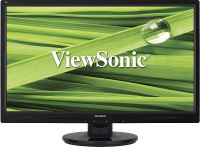 Монитор Viewsonic VA2046M-LED - фронтальный вид