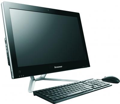 Моноблок Lenovo C340 (57319813) - вид сбоку