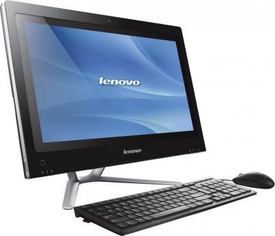 Моноблок Lenovo C340 (57319815) - вид сбоку