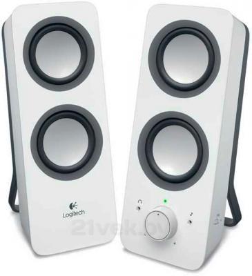 Мультимедиа акустика Logitech Z200 (980-000811) - общий вид
