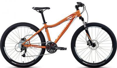 Велосипед Specialized Myka HT Sport Disc (S, Orange-White, 2014) - общий вид