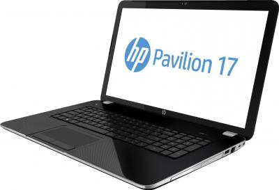 Ноутбук HP Pavilion 17-e036sr (F2U73EA) - общий вид