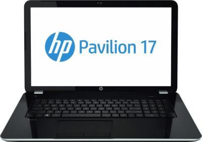 Ноутбук HP Pavilion 17-e036sr (F2U73EA) - фронтальный вид