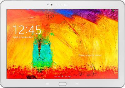 Планшет Samsung Galaxy Note 10.1 2014 Edition (32GB, 3G, White, SM-P6010ZWESER) - фронтальный вид