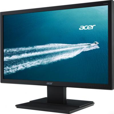 Монитор Acer V206HQLAB - вид сбоку