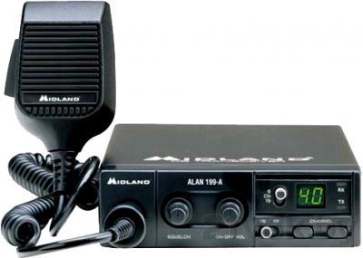 Радиостанция Alan 199A - общий вид
