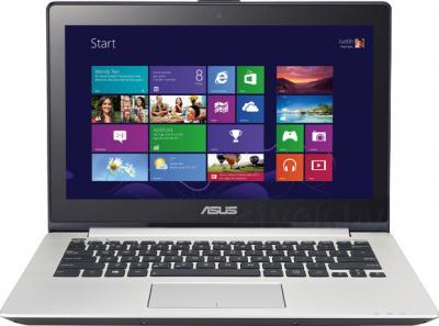 Ноутбук Asus VivoBook S301LA-C1023H - фронтальный вид