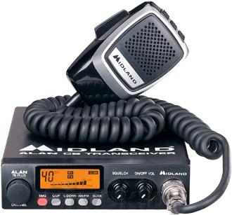 Радиостанция Alan 78 Plus Multi - общий вид
