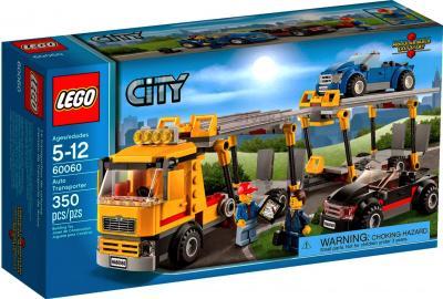 Конструктор Lego City Транспорт для перевозки автомобилей (60060) - упаковка