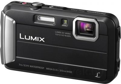 Компактный фотоаппарат Panasonic Lumix DMC-FT25EE-K - общий вид