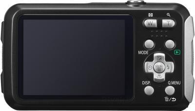 Компактный фотоаппарат Panasonic Lumix DMC-FT25EE-K - вид сзади