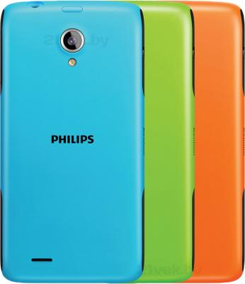 Смартфон Philips W6500 (3 цветные крышки) - цветные крышки
