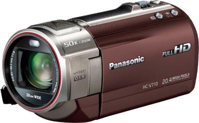 Видеокамера Panasonic HC-V710EE-T - общий вид