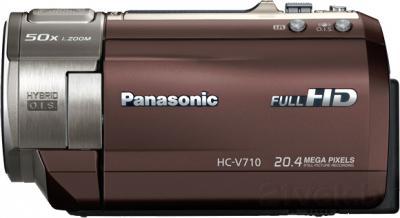 Видеокамера Panasonic HC-V710EE-T - вид сбоку