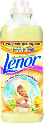 Ополаскиватель для белья Lenor Летний день с экстрактом хлопка (1л) - общий вид