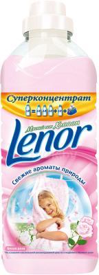 Ополаскиватель для белья Lenor Белая роза с экстрактом хлопка (1л) - общий вид