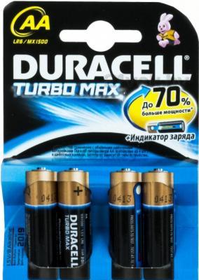 Батарейки АА Duracell TurboMax LR6 (4шт) - общий вид