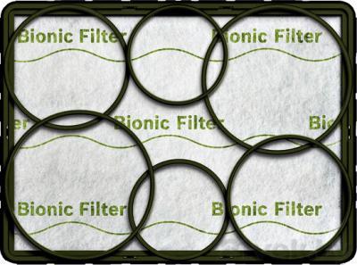 Фильтр для пылесоса Bosch Bionic BBZ 11BF - общий вид