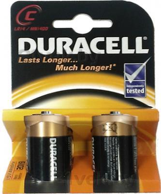 Батарейки C Duracell Basic LR14 (2шт) - общий вид